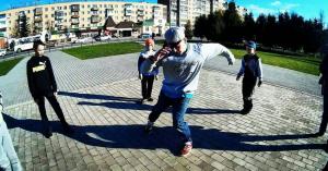 Bboy Valli в свитшоте с принтом Загорский Стиль Сергиев Посад