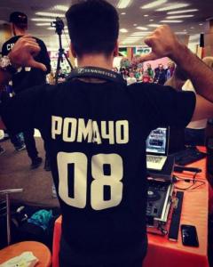 Напечатать футболку с именем и цифрами Сергиев Посад