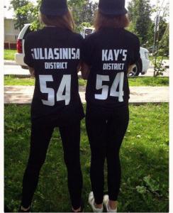 Напечатать футболки с именем и цифрами Сергиев Посад